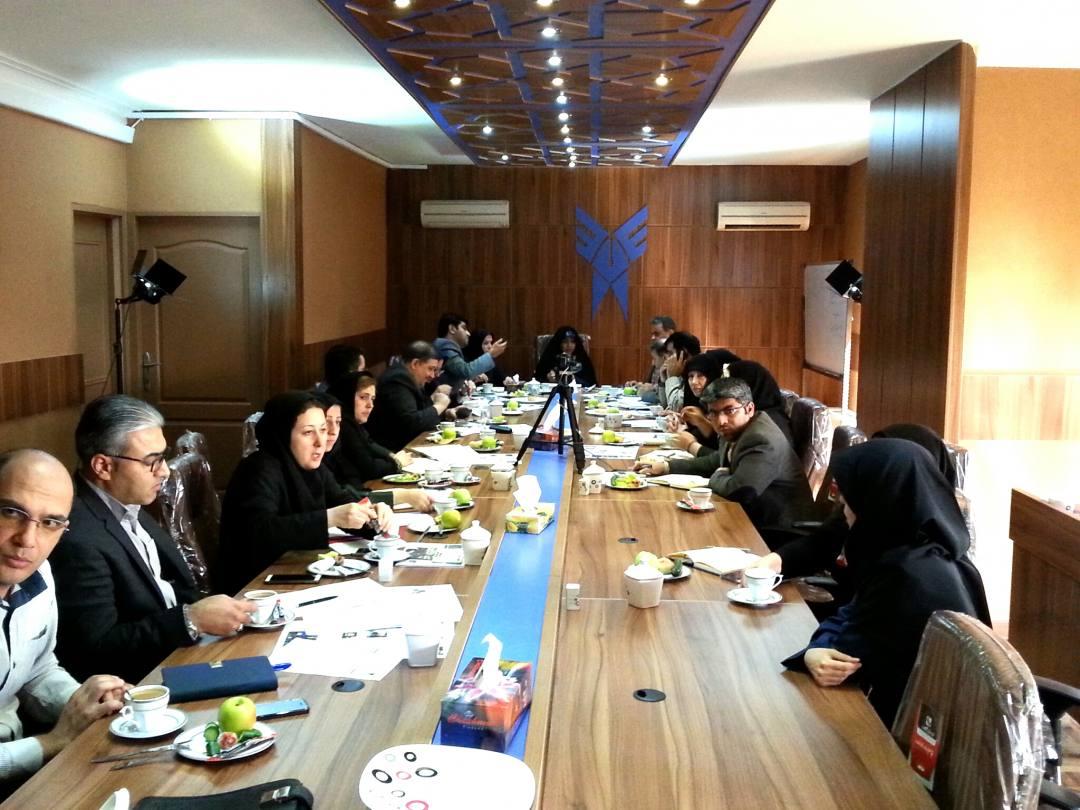 گزارش تصویری ازاولین جلسه کارگروه برگزاری استقبال از دانشجویان جدید الورود درواحد